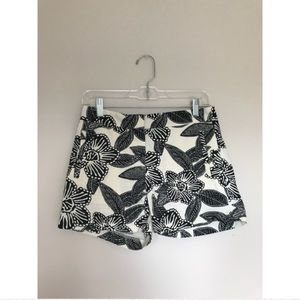 FLORAL J CREW CHINO SHORTS !!